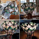 tidens de ambacht tiffany koperfolie techniek gemaakt werk 2 en 3-D
