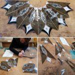 diverse fasen tiffany 2 en 3 D cursus glas