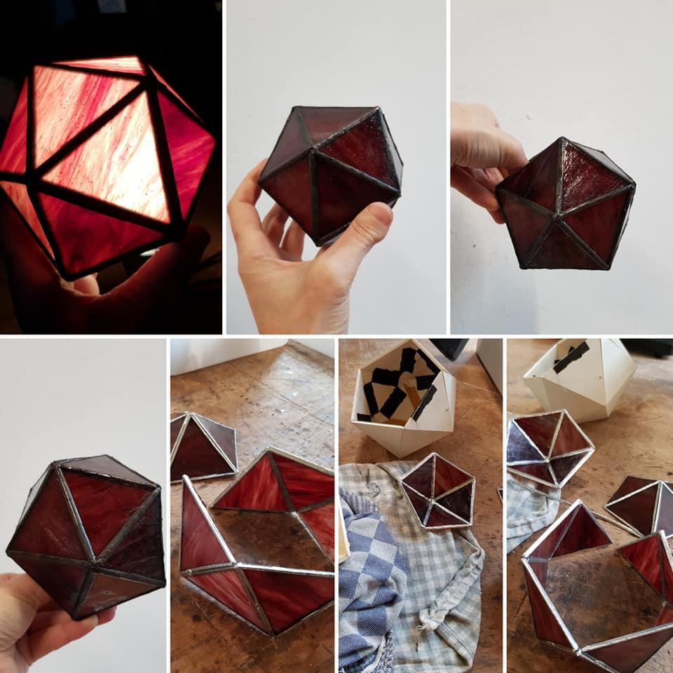 Tiffany 2 en 3 D cursus geometrische figuren